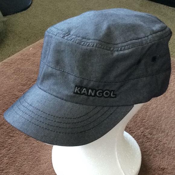 EUC Kangol Flexfit Army Cap